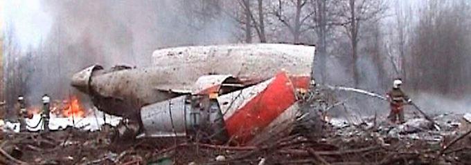 Bei dem Absturz kamen 96 Menschen ums Leben.
