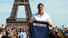 """Super Zlatan"" statt Eiffelturm: Ibrahimovic ""erpresst"" Paris"