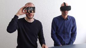 Für 13 Euro in die virtuelle Realität: Wie gut ist die VR-Brille von Tchibo?