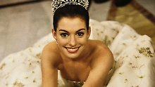 Plötzlich wieder Prinzessin!: Anne Hathaway filmt Remake