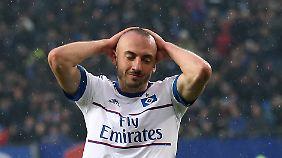Josep Drmic wechselte erst in der Winterpause zum HSV.
