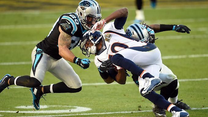 Beim American Football gilt der Schädel- und Nackenbereich als anfällig für Verletzungen - mit verheerenden Folgen.