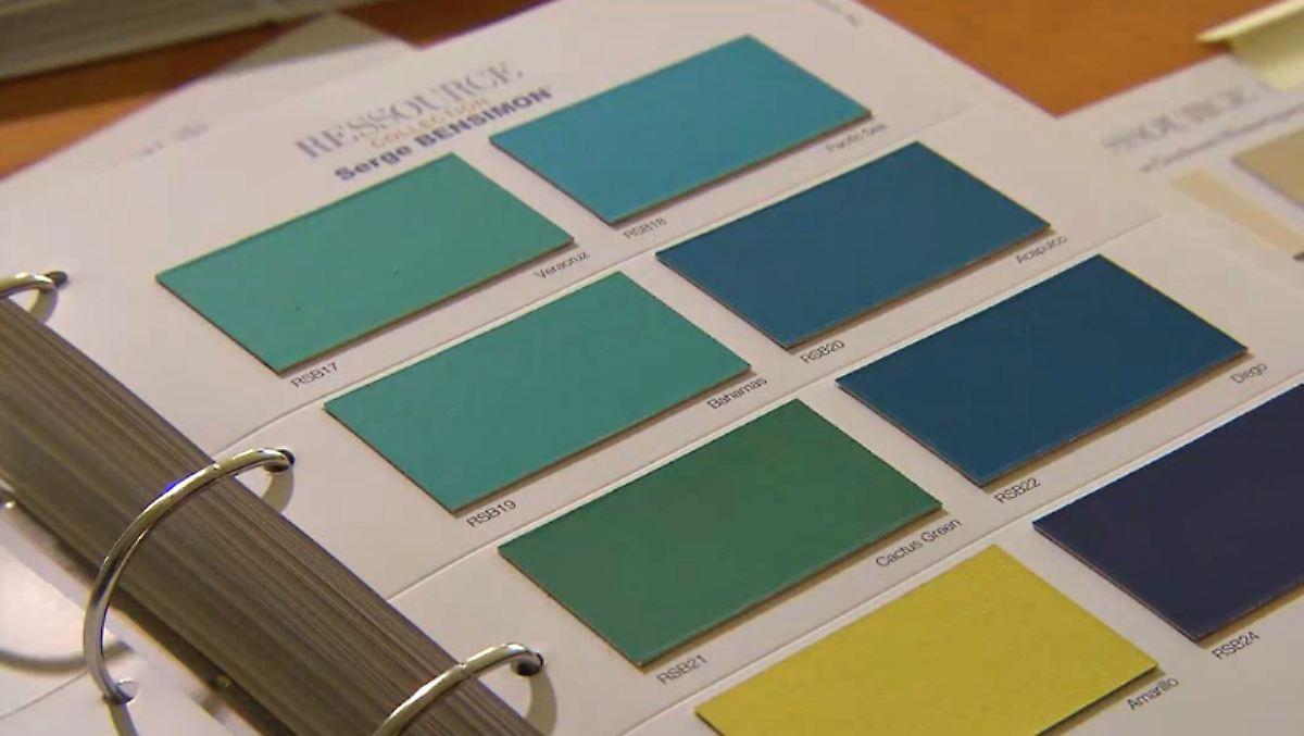 n tv ratgeber hochwertige wandfarben unter der lupe n. Black Bedroom Furniture Sets. Home Design Ideas