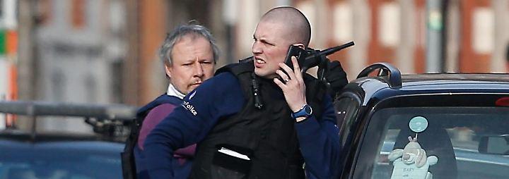 Anti-Terror-Einsatz in Brüssel: Verdächtige feuern auf Zielfahnder