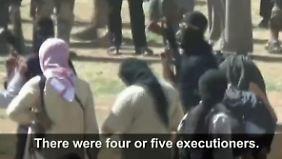 """""""Welt soll sehen, was passiert"""": Syrerinnen filmen heimlich das Leben in IS-Hochburg Rakka"""