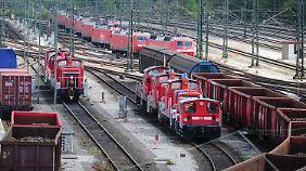 Der Güterverkehr ist ein großes Sorgenkind der Bahn.