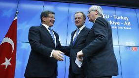Schwierige Verhandlungen in Brüssel: Das sind die Haupt-Streitpunkte zwischen EU und Türkei