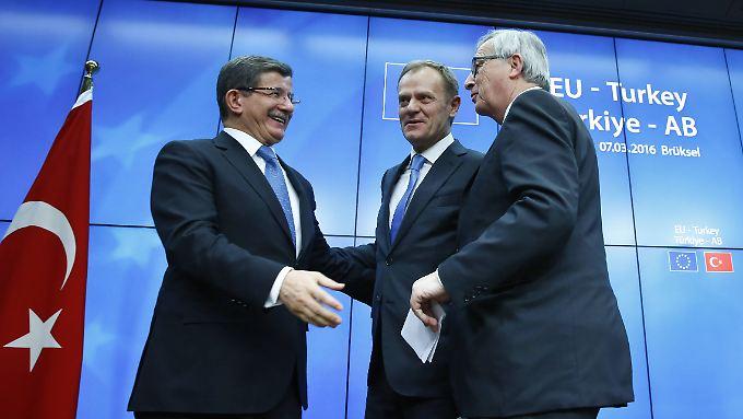 Schwierige Verhandlungen: Das Streitpunkte zwischen EU und Türkei