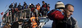 Tauschgeschäft mit der Türkei: Berlin rechnet mit 18.000 Flüchtlingen