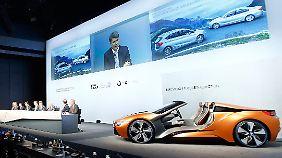 Nach Rekordergebnis 2015: Harald Krüger macht BMW fit für die Zukunft