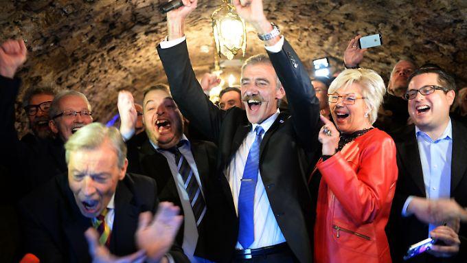 Die Landtagswahl in Rheinland-Pfalz war vermutlich nicht der letzte Anlass für die AfD, zu feiern.