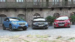 Neue Subaru-Modelle: Levorg, Impreza und XV auf den Zahn gefühlt