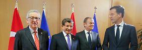 Regelung greift ab Sonntag: EU und Türkei einigen sich auf Flüchtlingspakt