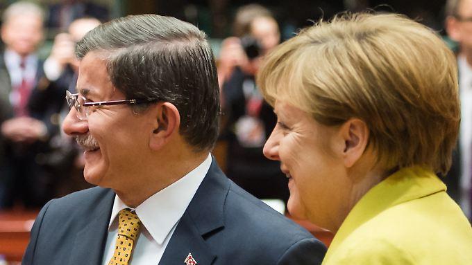 Merkel hat sich EU-Türkei-Gipfel in weiten teilen durchgesetzt.