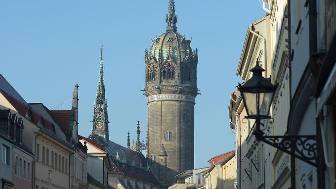 Die Lutherstadt Wittenberg in Sachsen-Anhalt ist ein wichtiges Reiseziel.