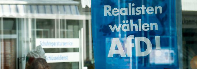 Vor allem jung und männlich: AfD spricht mehr Arbeitslose an