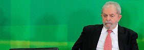 Kabinetteintritt mit Hindernissen: Luiz Inácio Lula da Silva.