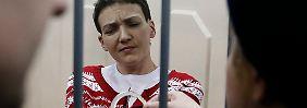 Prozess in Moskau: Ukrainische Pilotin wegen Mordes verurteilt