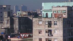 Wirtschaftsbeziehungen noch rudimentär: Beim Kuba-Besuch geht es auch ums Geschäft
