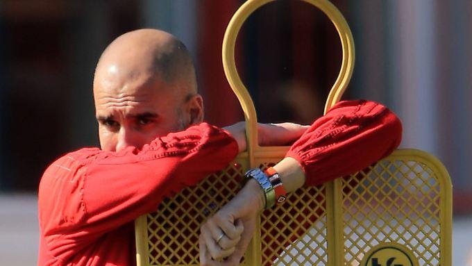 Muss Josep Guardiola mit Manchester Citys Millionentruppe nächstes Jahr in der Europaliga ran? Dieses Szenario wird immer wahrscheinlicher.