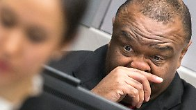 Bemba vor dem IStGH in Den Haag.