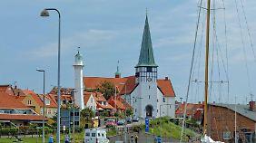 Der Hafen von Ronne.