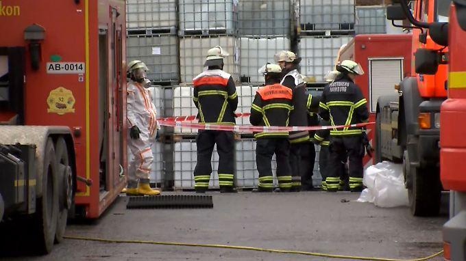 Der Unfall passierte in einer Halle im Hamburger Stadtteil Steinwerder.