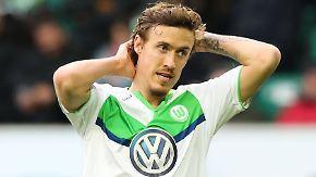 Rauswurf kein Thema: VfL Wolfsburg lässt Kruse nicht fallen