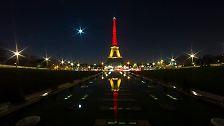 Trauer um Tote von Brüssel: Die Welt erstrahlt in Schwarz, Gelb und Rot