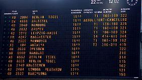 Flüge nach Brüssel wurden auch einen Tag nach den Anschlägen abgesagt.