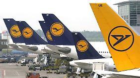 Fliegt vorübergehend nicht nach Brüssel: Lufthansa