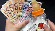 Das Elterngeld gilt als ein Ersatz für Einkünfte.