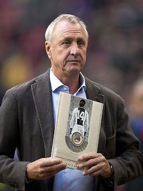 Als Spieler und Trainer gleichermaßen erfolgreich: Die legendäre Nummer 14, Johan Cruyff.
