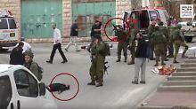 Vorfall in Hebron: Hinweise für eine Notwehrsituation sind nicht zu erkennen.