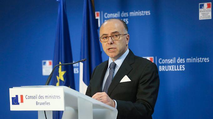 Frankreichs Innenminister Cazeneuve verkündete die Festnahme.
