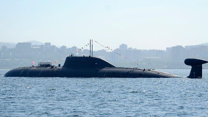 Noch liegt ein Großteil der russischen Pazifikflotte vor Wladiwostok vor Anker.