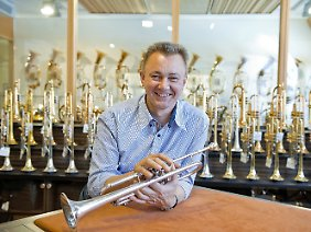 Hans Thomann ist selbst Baritonhornist.