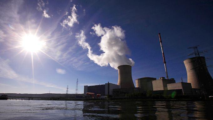 Das Atomkraftwerk Tihange liegt 70 Kilometer westlich von Aachen, in der Nähe von Lüttich.