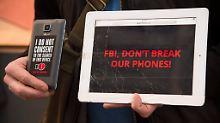 Geknackt wurde das iPhone - aber immerhin nicht von Apple selbst.