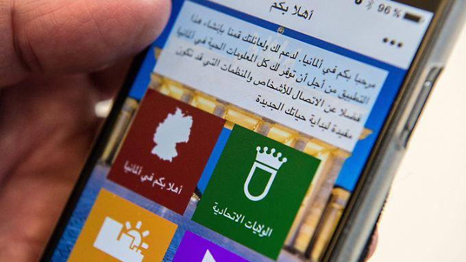 """Die """"Welcome-App"""" ist eine mehrsprachige plattformübergreifende Orientierungshilfe für Asylsuchende, Flüchtlinge und Migranten in Deutschland."""