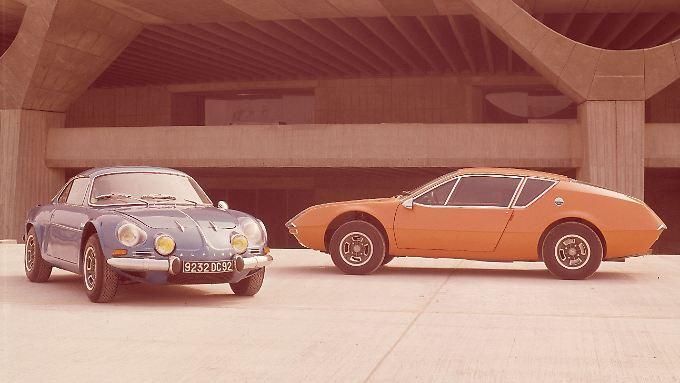 Der Renault Alpine A110 war eine Ikone.  A310 sollte ihn ablösen und Porsche und Alfa den Rang ablaufen.