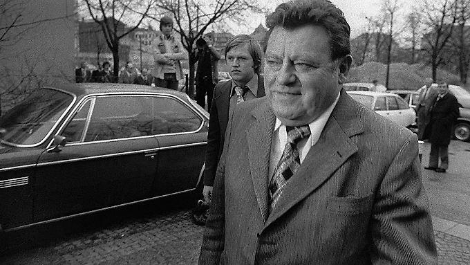 Franz Josef Strauß in einer Aufnahme von 1976.