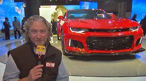 Autos zum Träumen: Zu Besuch auf der New York Autoshow