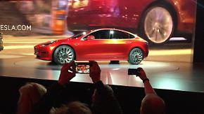 Elektroauto-Markt kommt ins Rollen: Tesla freut sich über 400.000 Vorbestellungen für Model 3
