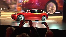 """""""Model 3""""-Premiere: Tesla setzt den Massenmarkt unter Strom"""