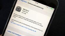 Apple verteilt iOS 9.3.1: Update für Link-lahme iPhones ist da