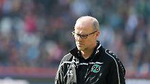 Nur ein Sieg in elf Spielen: Hannover 96 beurlaubt Trainer Schaaf