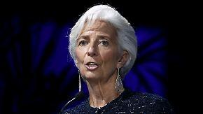 Protokoll eines brisanten Telefonats: Lagarde weist Wikileaks-Vorwurf zur IWF-Strategie gegenüber Athen zurück