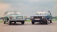 Der VW 412 (links) und der VW K 70 (rechts) unterschieden sich vorallem in der Front. Im Juni 1974 kommt es jedoch nach 367.728 Exemplaren für den VW Typ 4 (411 / 412) zum Produktionsende. Ein halbes Jahr später, im Januar 1975, folgt nach 211.127 Exemplaren der VW K 70.