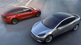 Engpässe bei der Produktion: Tesla lässt Model-3-Kunden warten